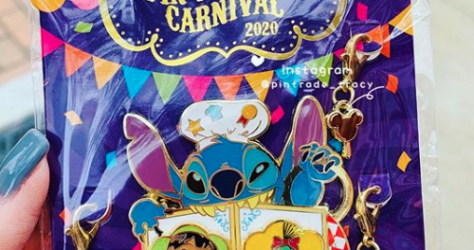 Stitch 3rd Pin Trading Carnival Event Pin