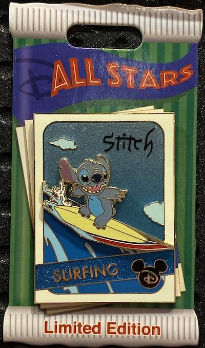 Stitch Trading Cards Disney Pin