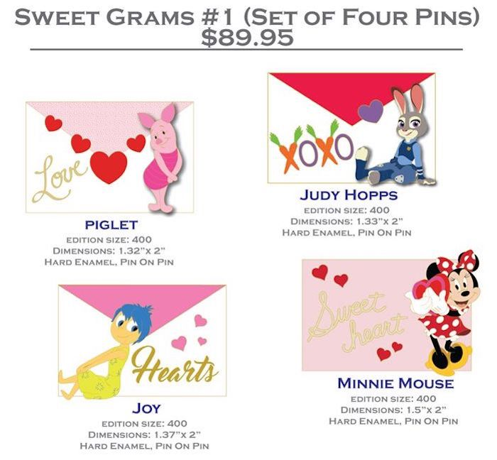 Sweet Grams #1 DSSH Pin Set