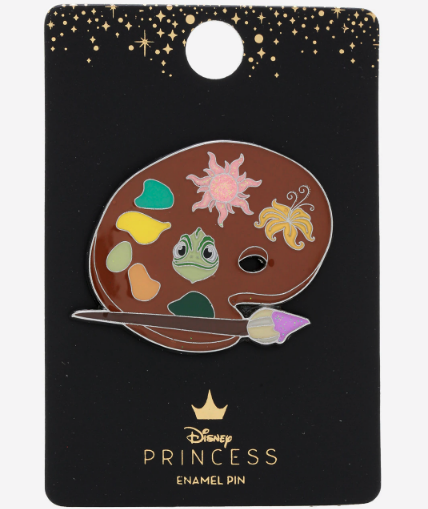 Tangled Pascal Paint Palette Hot Topic Disney Pin