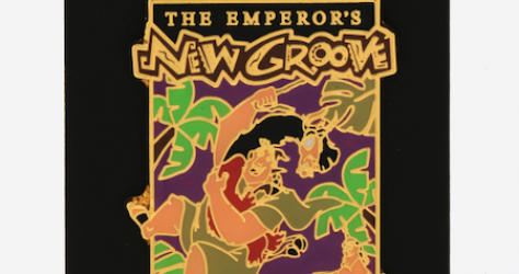 The Emperor's New Groove Movie Poster BoxLunch Disney Pin