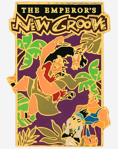 The Emperor's New Groove Movie Poster Disney Pin