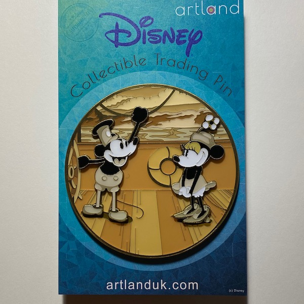 The First Meeting LE 100 ArtLand Disney Pin
