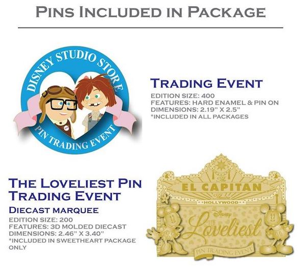 The Loveliest Pin Trading Event Pins
