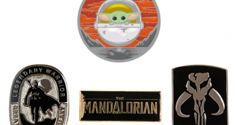 The Mandalorian Geek Store Pins 1