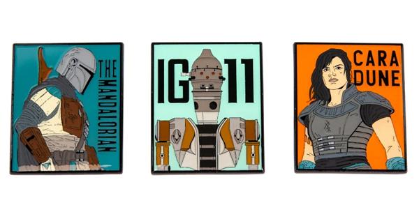 The Mandalorian Geek Store Pins 2