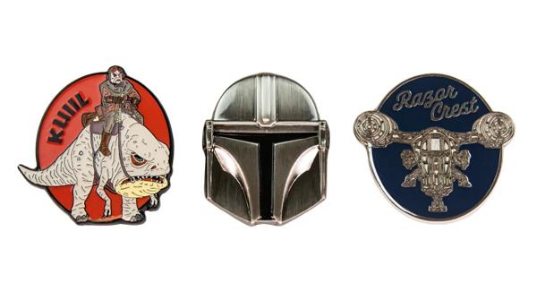 The Mandalorian Geek Store Pins 3