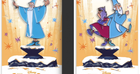 The Sword in the Stone Mondo Disney Pins