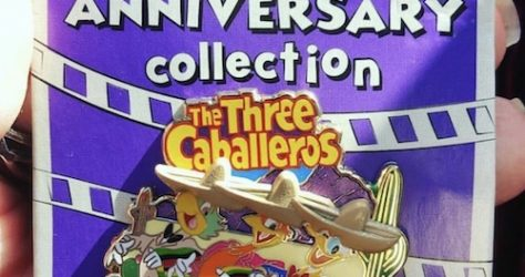 The Three Caballeros 75th Anniversary Cast Member Pin