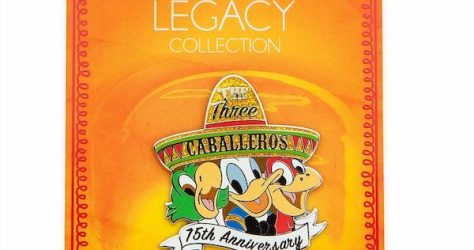 The Three Caballeros 75th Anniversary shopDisney Pin