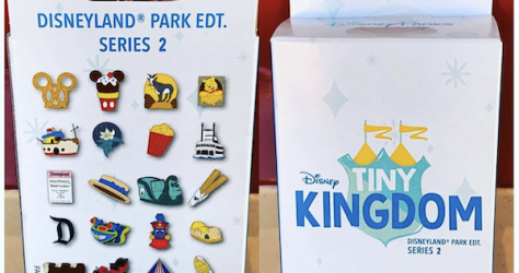 Tiny Kingdom Disneyland Series 2 Mystery Pin Collection