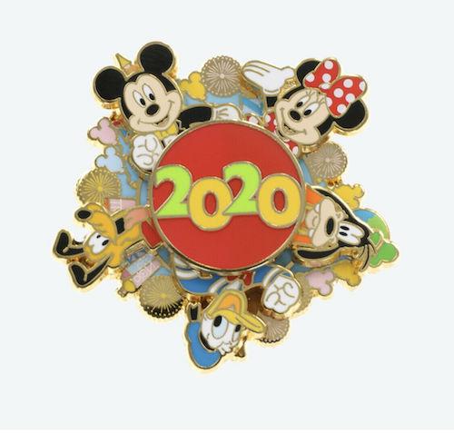 Tokyo Disney Resort 2020 Spinner Pin