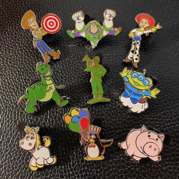 Toy Story Land 2020 Mystery Disney Pins