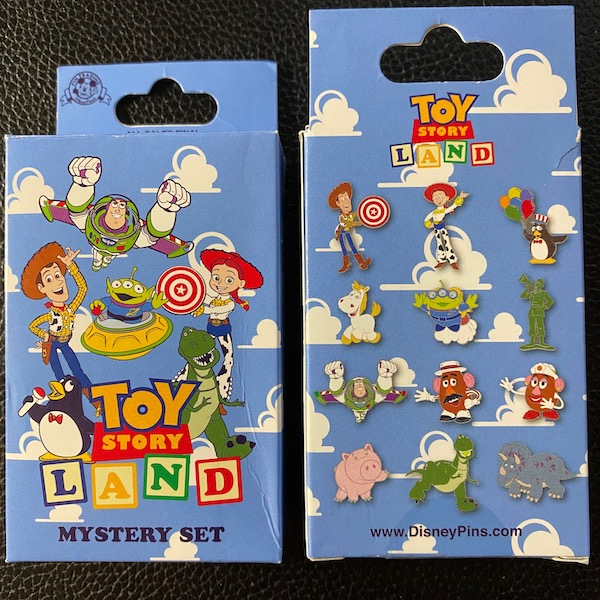 Toy Story Land Mystery Disney Pin Set