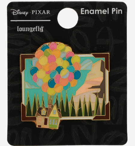 UP Stained Glass Hot Topic Disney Pin