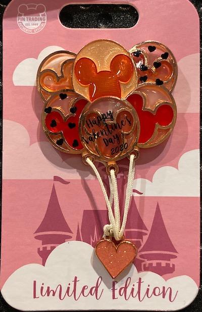Valentine's Day 2020 Disney Pin