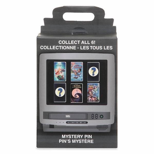 Walt Disney Home Video VHS Case Mystery Pin Box