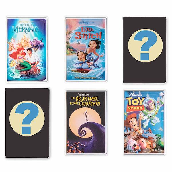 Walt Disney Home Video VHS Case Mystery Pin Set