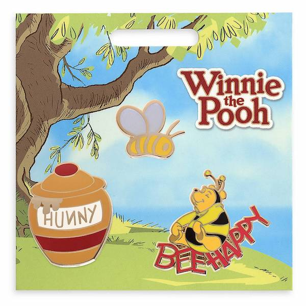Winnie the Pooh Bee Happy shopDisney Pin Set
