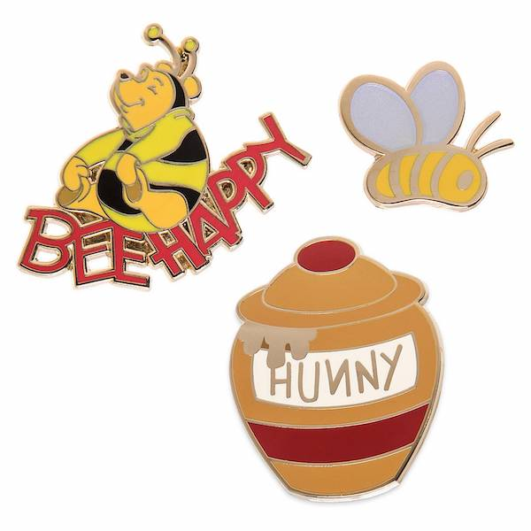 Winnie the Pooh Bee Happy shopDisney Pins