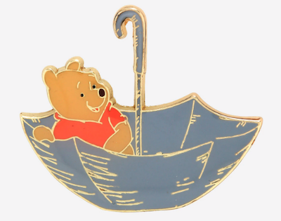 Winnie the Pooh Umbrella Disney Pin