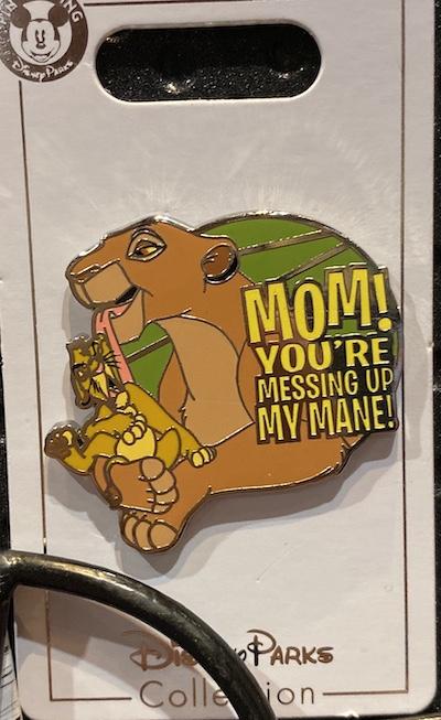 You're Messing Up My Mane! Lion King Pin