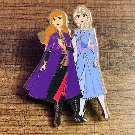 Anna & Elsa Frozen 2 Disney Movie Club Pin