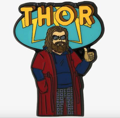 Avengers Endgame Thor Marvel Pin