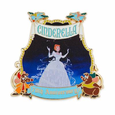 Cinderella 70th Anniversary Limited Release Pin