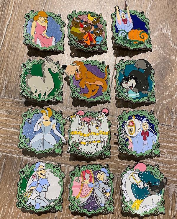 Cinderella 70th Anniversary Mystery Pins