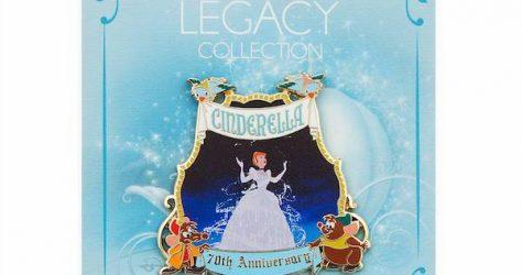 Cinderella 70th Anniversary shopDisney Pin