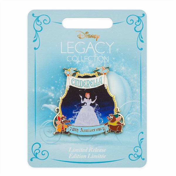 Cinderella 70th Anniversary shopDisney Pin