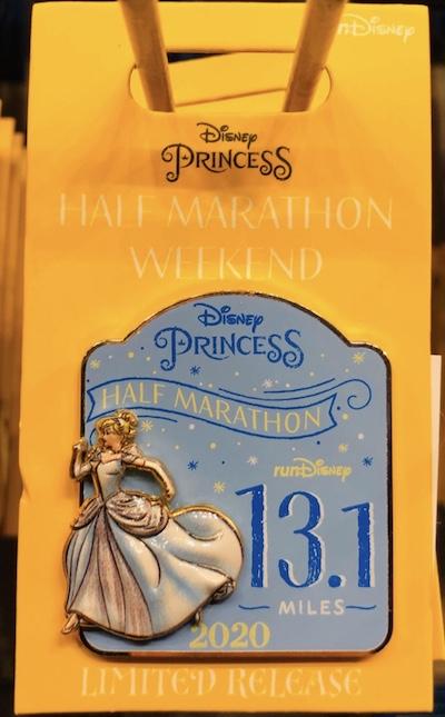 Cinderella Half Marathon Princess 2020 Pin
