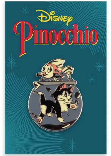 Cleo & Figaro Pinocchio Mondo Disney Pin