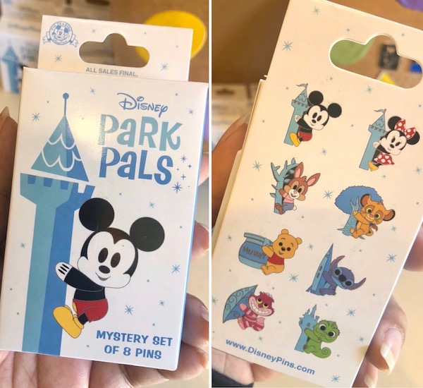 Disney Park Pals Mystery Pin Collection