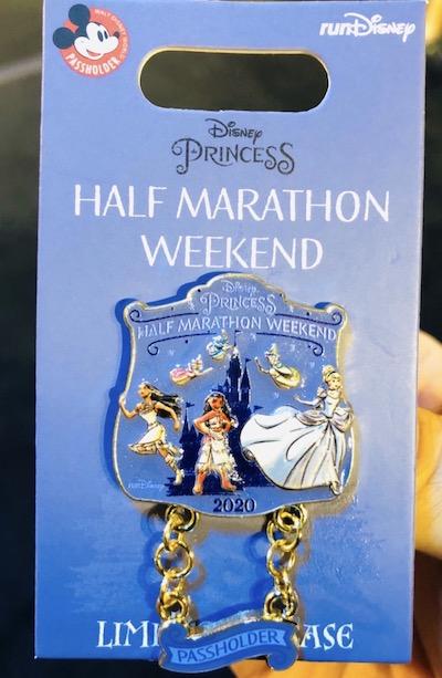 Disney Princess Half Marathon Weekend 2020 Passholder Pin