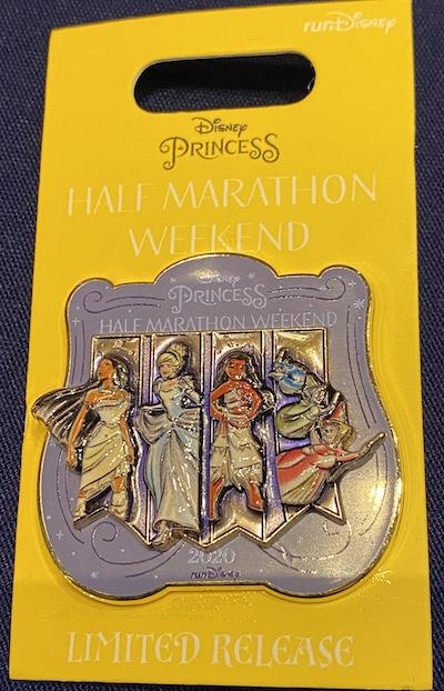 Disney Princess Half Marathon Weekend 2020 Pin