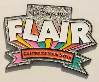 Disney Store Flair Pin