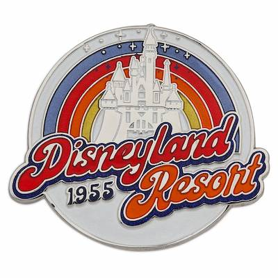 Disneyland Logo Pin 2020