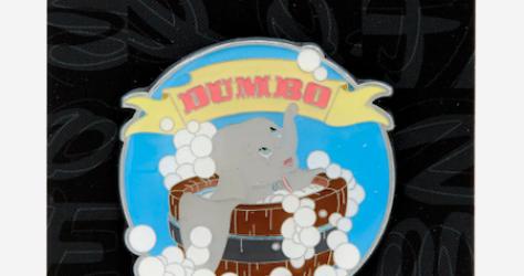 Dumbo Bath Hot Topic Disney Pin