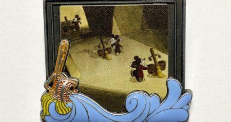 Fantasia Disney Backstage Collection Pin