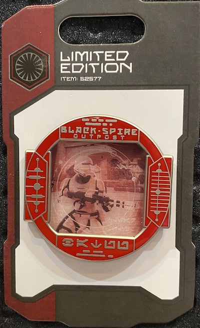 Flametrooper First Order Scouting Star Wars Galaxy's Edge Pin