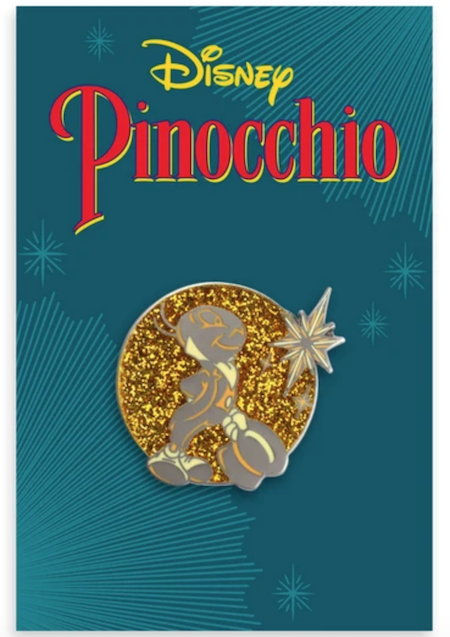 Jiminy Cricket Pinocchio Mondo Disney Pin