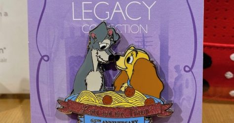 Lady and the Tramp 65th Anniversary shopDisney Pin