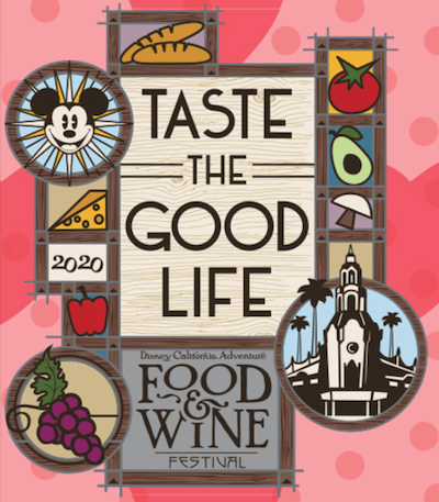 Logo Pin - Disney California Adventure Food & Wine Festival 2020
