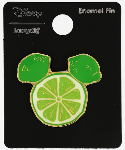 Mickey Mouse Lime Head BoxLunch Disney Pin