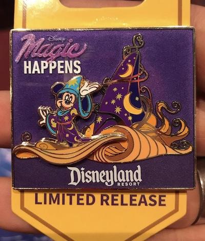 Mickey Mouse Magic Happens Parade Pin