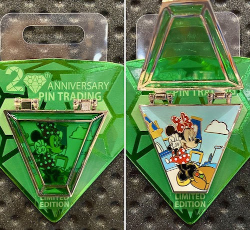 Minnie Mouse Pin Trading 20th Anniversary Pin
