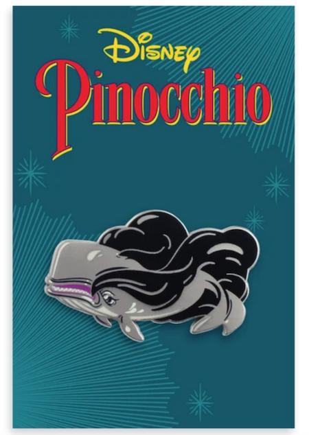 Monstro Pinocchio Mondo Disney Pin