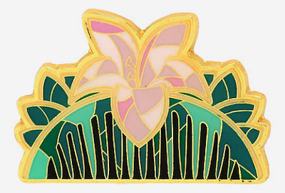 Mulan Comb Stained Glass BoxLunch Pin